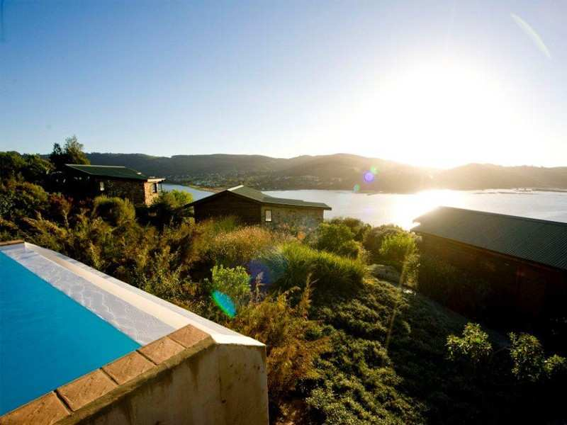 Garden Route Knysna Accommodation The Elephant Hide Guest Lodge Exterior Facilities Pool View Infinity