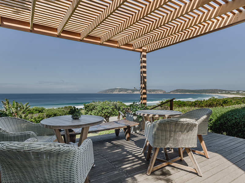 The Robberg Beach Lodge Outdoor Area
