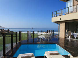 Garden Route Mossel Bay Accommodation African Oceans Manor On The Beach Exterior View Facilities Pool Sea