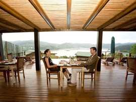 Garden Route Knysna Accommodation The Elephant Hide Guest Lodge Accommodation Facilities Restaurant Dining View