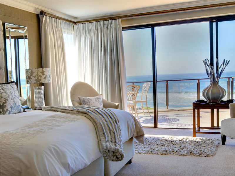 Garden Route Mossel Bay Accommodation African Oceans Manor On The Beach Bedroom Sea View