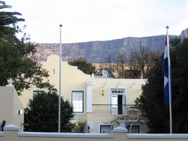 Cape Town Accommodation Mountain Manor Front S