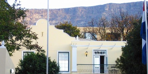 Cape Town Accommodation Mountain Manor Front Banner