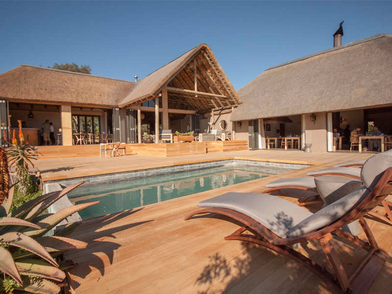 Amakhala Game Reserve Bukela Game Lodge Pool Deck View