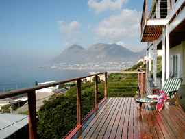 Cape Town Accommodation Simonstown Moonglow Guest House View