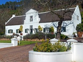Winelands Frnaschhoek Accommodation Rickety Bridge Exterior M