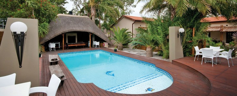 Port Elizabeth  Accommodation Walmer Ibhayi Town Lodge Pool Banner