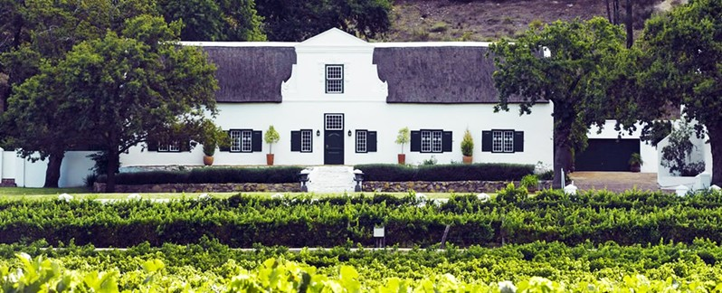 Winelands Frnaschhoek Accommodation Rickety Bridge Exterior2 Banner
