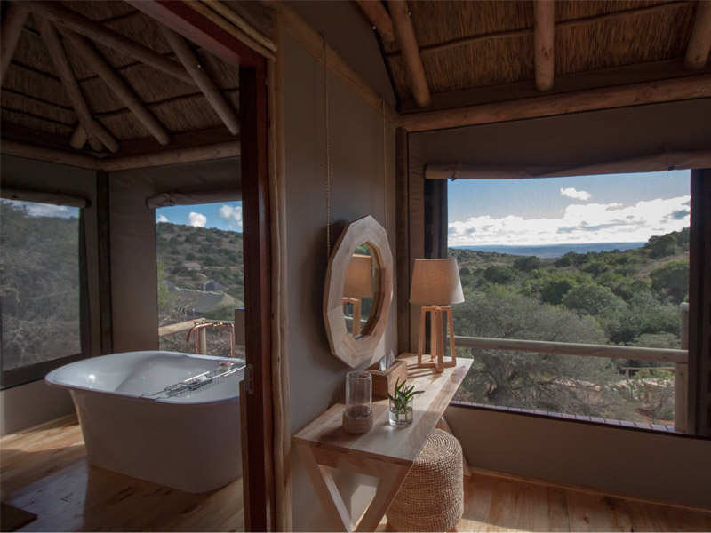 Amakhala Game Reserve Bukela Game Lodge Luxury Safari Tent Bathroom