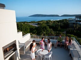 Garden Route Plettenberg Bay Accommodation Robberg Beach Lodge Deck M