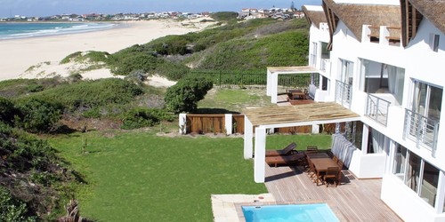 Cape St Francis Beach Break Villas 5 Bedroom All Outdoor Levels Banner
