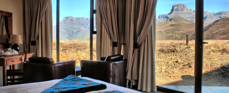 Drakensberg Accommodation Conservation Area Witsieshoek Mountain Lodge Banner 3