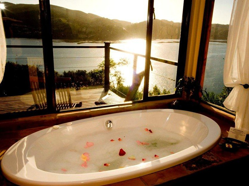Garden Route Knysna Accommodation The Elephant Hide Guest Lodge Accommodation Interior Bathroom View
