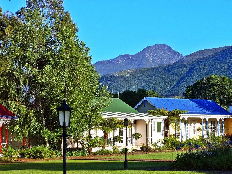 Eastern Cape Garden Route Accommodation Tsitsikamma Village Inn Exterior Mountain View Garden