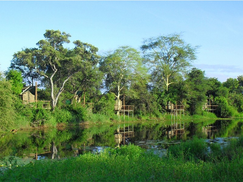 Mozambique Accommodation Great Limpopo National Park Machampane Wilderness Camp View