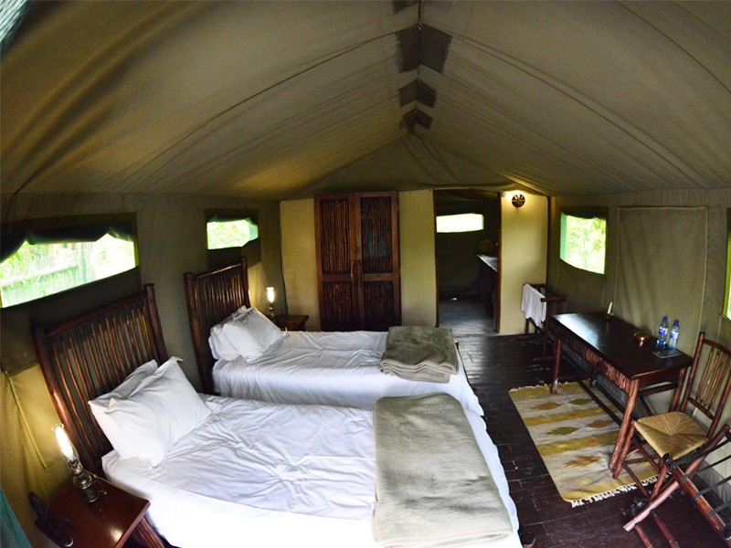 Mozambique Accommodation Great Limpopo National Park Machampane Wilderness Camp Bedroom