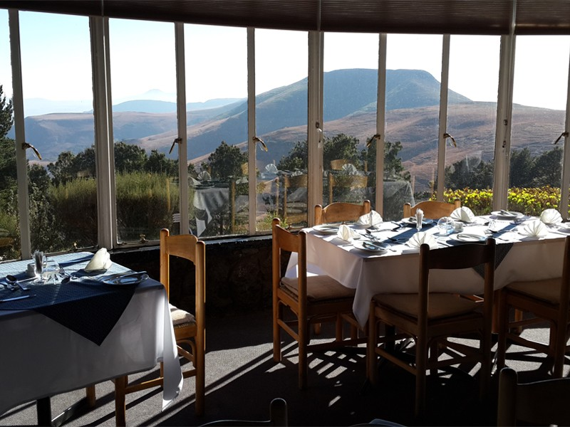 Drakensberg Accommodation Conservation Area Witsieshoek Mountain Lodge Facilities Dining