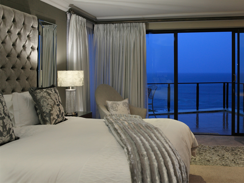 Garden Route Mossel Bay Accommodation African Oceans Manor On The Beach Bedroom Sea View 2