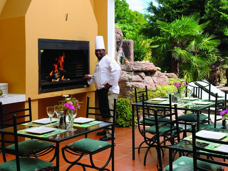 Addo Accommodation Cosmos Cuisine  Outdoor L