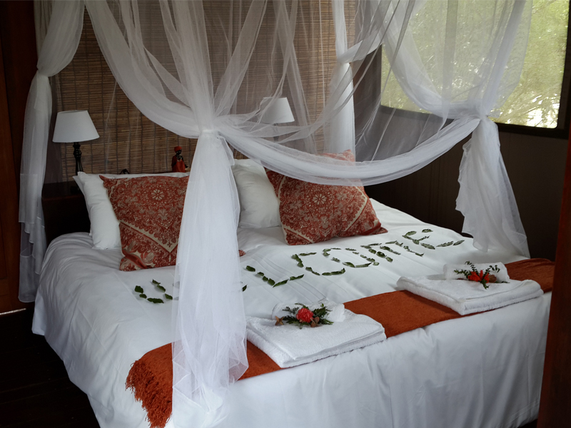 Nkambeni Safari Camp Kruger National Park Tented Bedroom
