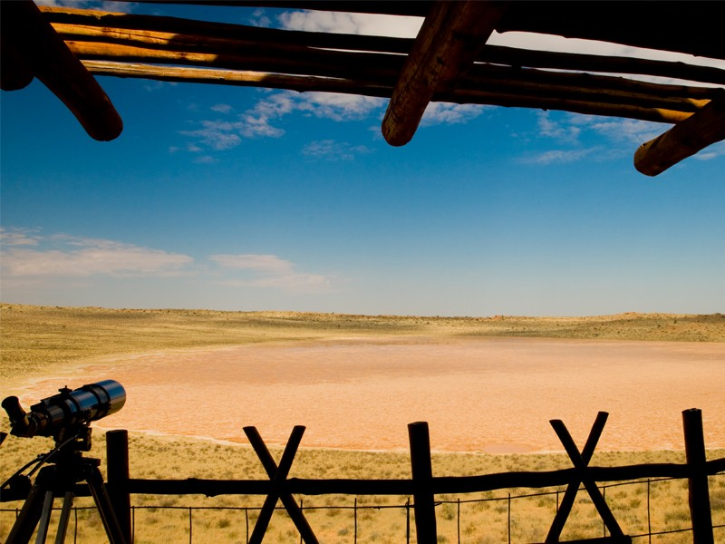 Kgalagadi Accommodation Transfrontier Park Xaus Lodge View