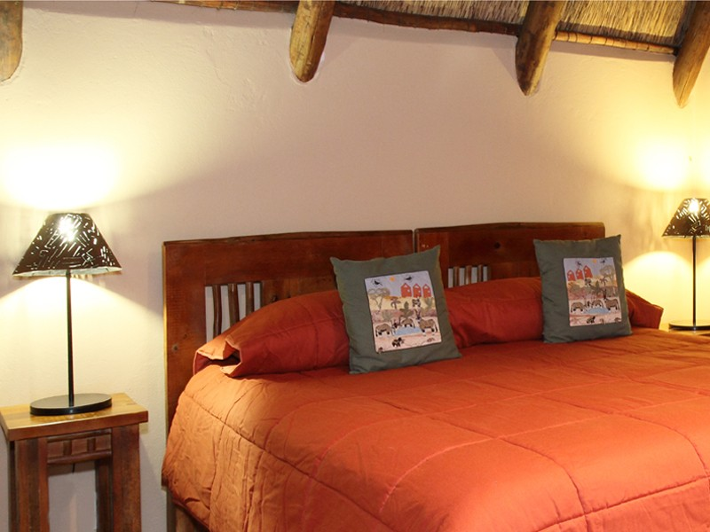 Kgalagadi Accommodation Transfrontier Park Xaus Lodge Bedroom