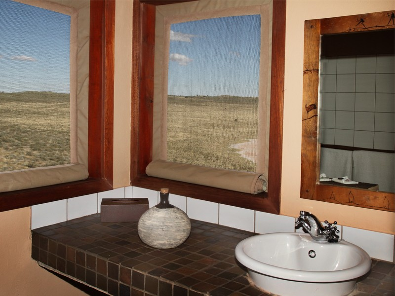 Kgalagadi Accommodation Transfrontier Park Xaus Lodge Bathroom