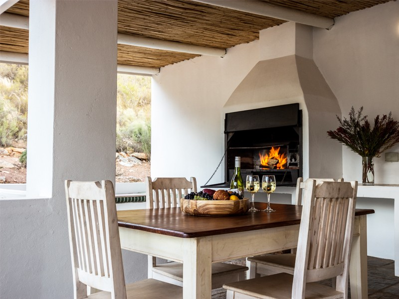 Winelands Accommodation Robertson Orange Grove Faclilites Braai