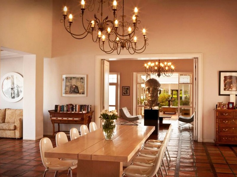 Winelands Frnaschhoek Accommodation Rickety Bridge Dining Room  M