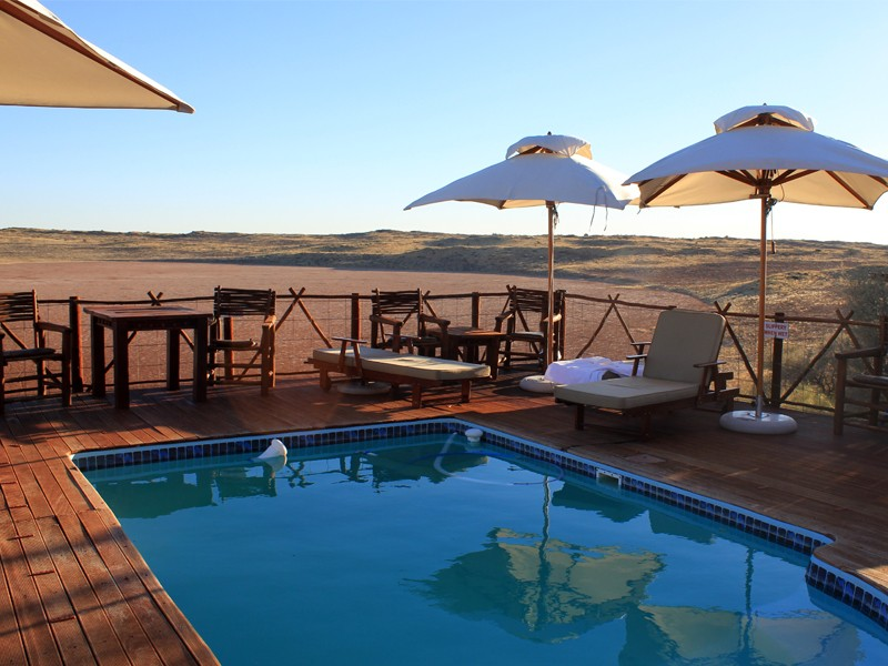 Kgalagadi Accommodation Transfrontier Park ! Xaus Lodge Facilities Pool View