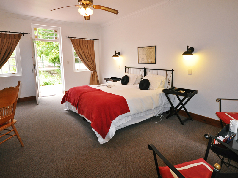 Eastern Cape Garden Route Accommodation Tsitsikamma Village Inn Room Bedroom 2