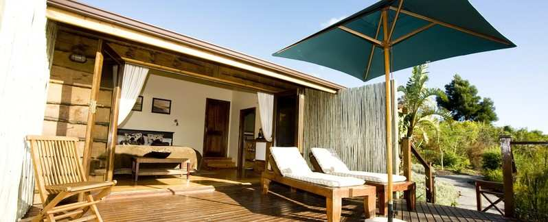 Garden Route Knysna Accommodation The Elephant Hide Guest Lodge Accommodation Interior Room Bedroom Terrace