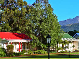 Eastern Cape Garden Route Accommodation Tsitsikamma Village Inn Exterior View Mountain Garden